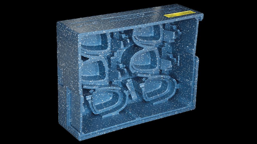 Produkcja opakowań transportowych z tworzyw sztucznych na zamówienie - Branża automotive