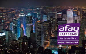 Sucesso na certificação automotiva - IATF na KNAUF Industries Poland