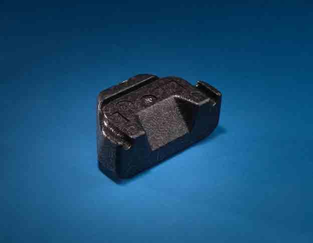 Element zagłówka samochodowego z ekspandowanego polipropylenu