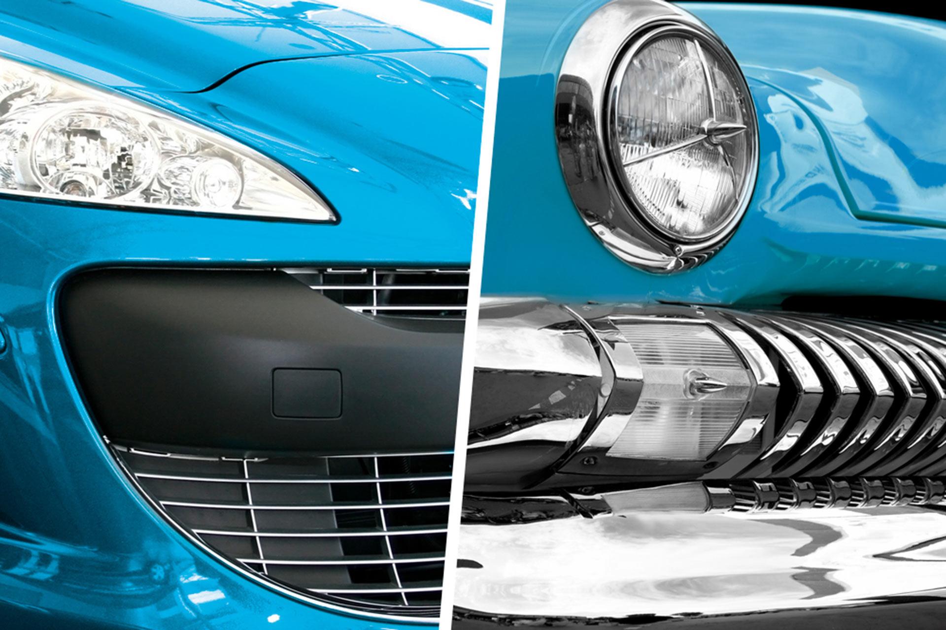 ¿Cuánto pesaría un coche si los componentes de plástico se fabricaran con otro material?