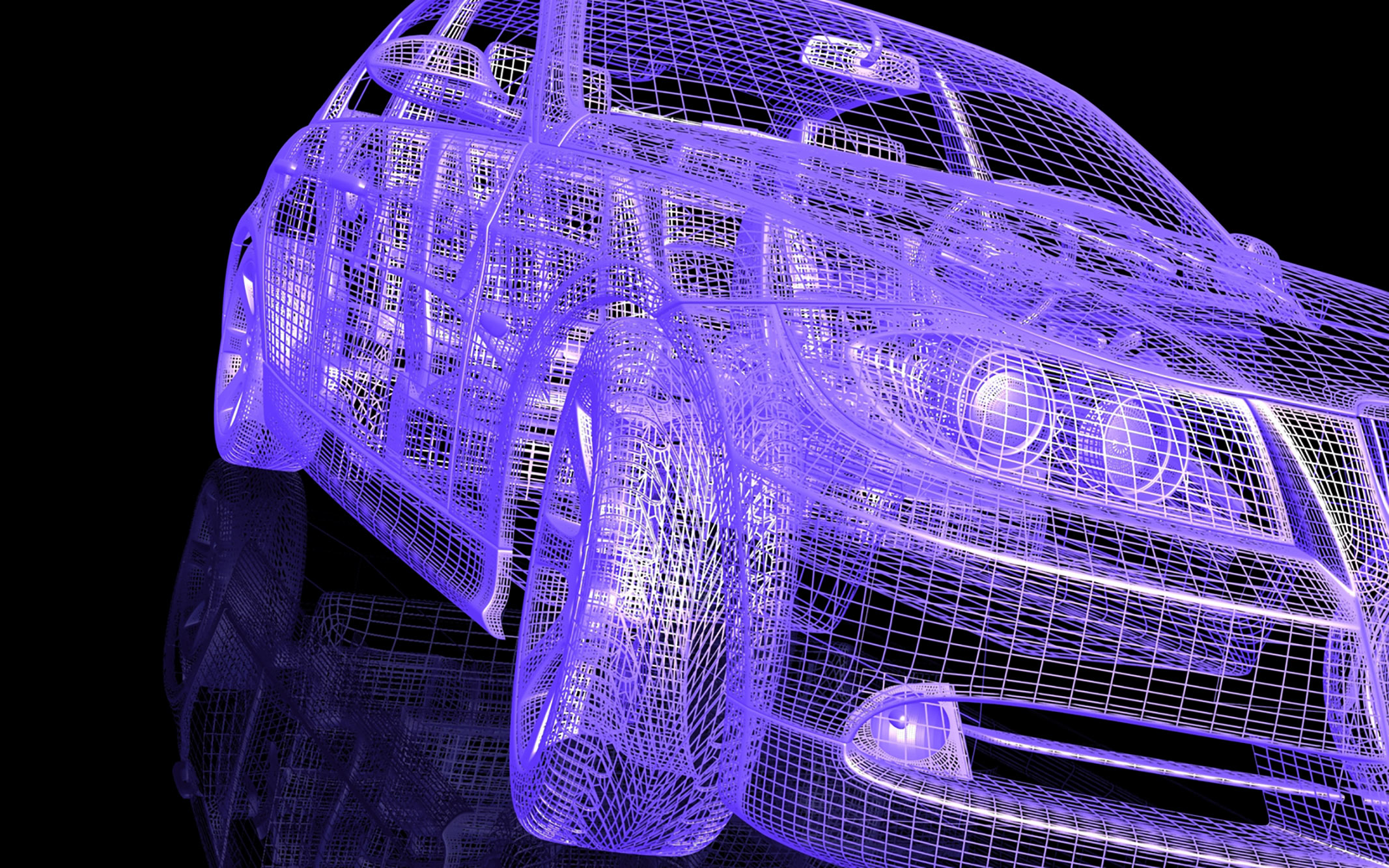 3D technology in the automotive sector is still developing.