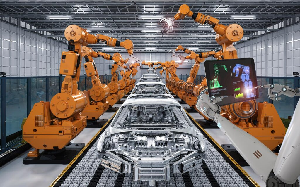 ¿Cómo es la fábrica de coches del futuro?