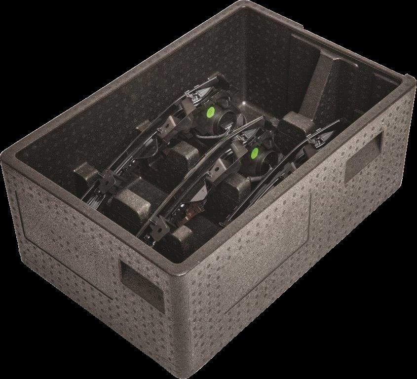 Komebac®- Lekkie pojemniki transportowe z EPP dla Automotive - Branża automotive