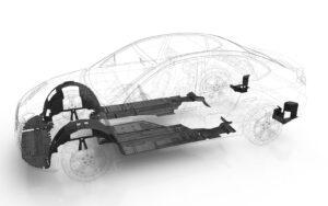 Proteção contra respingos do motor - proteção da parte inferior da carroceria e manuseio aprimorados